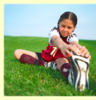 Soccer Stretching Image