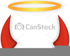 Angel With Halo Clipart Image