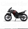 Funny Motorcycle Clipart Image