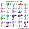 Medical Icon Set Image