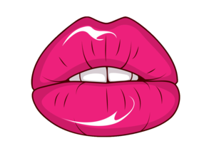 Freevector Sexy Lips Vector Image