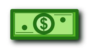 dollar bill free images at clker com vector clip art online rh clker com dollar bill clipart images dollar bill clipart free