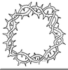 Clipart Crown Thorn Image