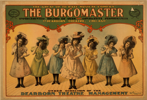 The Burgomaster The Great Up To Date Musical Comedy : Unprecedented Record Of Over 100 Consecutive Performances At Dearborn Theatre, Chicago. Image