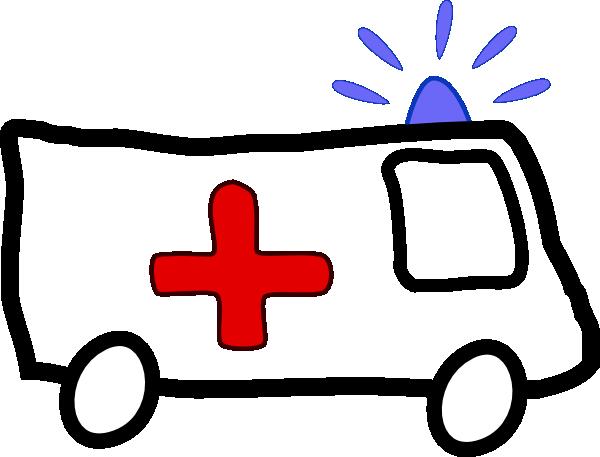 Ambulance Car Cl...Fire Siren Clipart