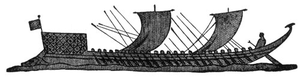 Ancient Greek Ships Image