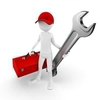 Clipart Man With Tool Box Image