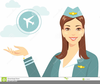 Woman On Vacation Clipart Image