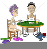 Vector Clipart Of Elderly Image