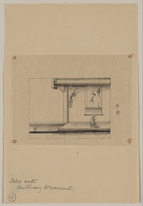 Toko [i.e., An Alcove] With Customary Ornaments Image