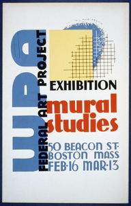 Wpa Federal Art Project Exhibition - Mural Studies Image