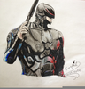Robocop Pencil Drawing Image
