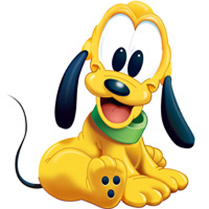 Baby pluto clipart free images at vector clip art online royalty free public domain - Mickey et plutot ...