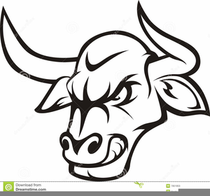 black and white bull clipart free images at clker com vector rh clker com