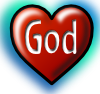 God Heart 2 Clip Art