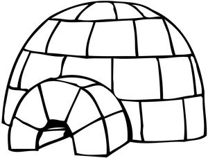 igloo clipart free images at clker com vector clip art online rh clker com clip art glorification clipart igloo