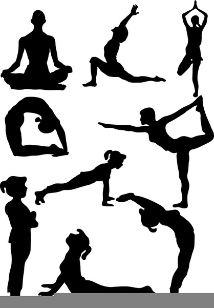 Yoga Poses Clipart Free Images At Clker Com Vector Clip Art Online Royalty Free Public Domain