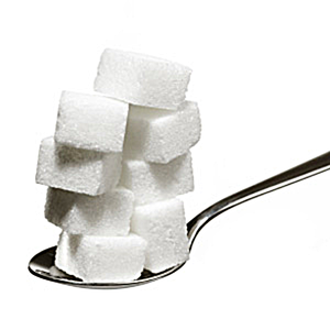 Sugar On Spoon Doctored Image