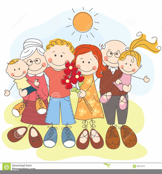 big happy family clipart free images at clker com vector clip rh clker com happy family picture clipart happy family clipart png