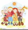 Big Happy Family Clipart Image