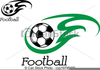 Green Soccer Ball Clipart Image