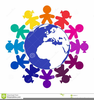 Free Clipart Of Children Around The World Image
