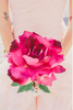 Water Paint Paper Flowers Via Green Wedding Shoes Image