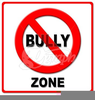 No Bullying Clipart Image