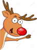 Cute Rudolph Clipart Image