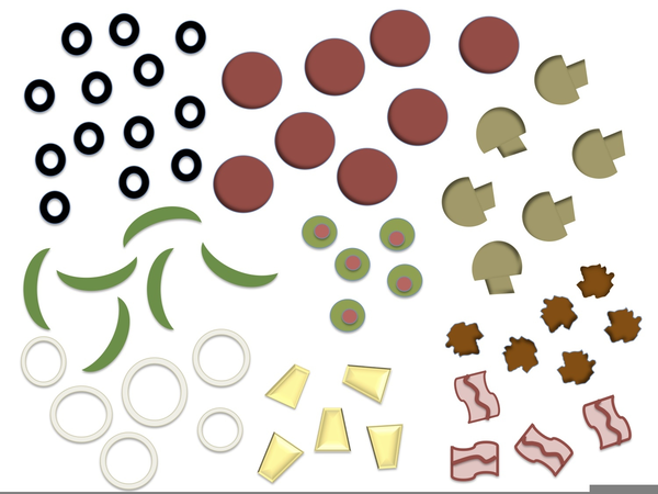 This is a photo of Transformative Printable Pizza Toppings