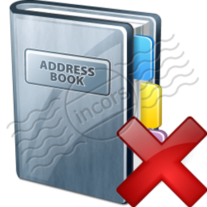 Address Book Delete 4 Image