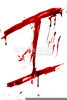 Bloody Letter I Image