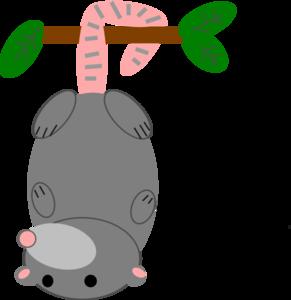Possum No Smile Clip Art at Clker com - vector clip art