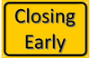 Closing Early Clipart Image