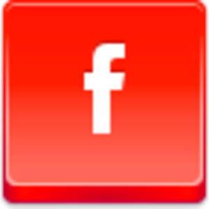 Free Red Button Icons Facebook Small Image