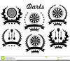 Free Darts Clipart Image