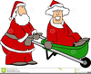 Santa And Mrs Claus Clipart Image