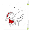 Clipart Of Girl Playing The Piano Image