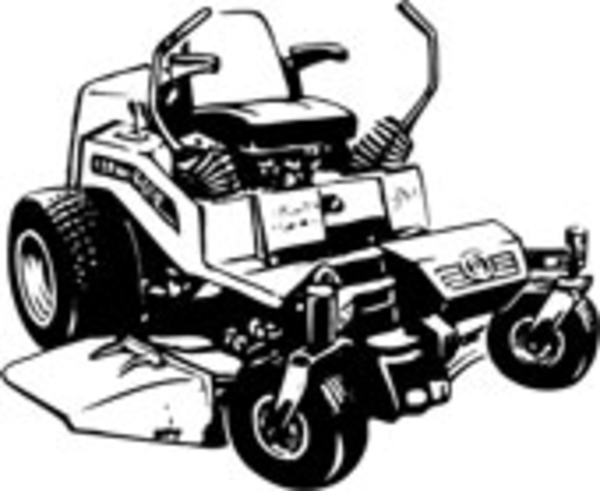 Lawn Mower | Free Images at Clker.com - vector clip art ...
