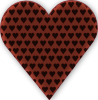 Heart In Heart Dark Clip Art