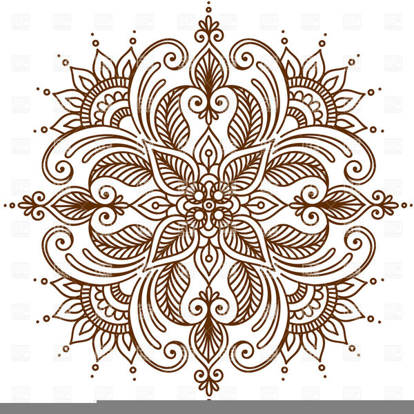 Free Henna Clipart Free Images At Clker Com Vector Clip Art