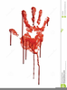 Free Hand Prints Clipart Image