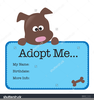 Pet Adoption Clipart Image
