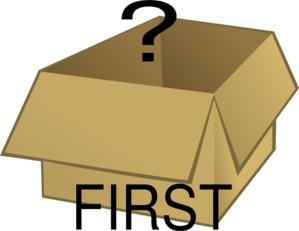 First Box Clip Art
