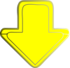 Yellow-arrow-down Clip Art
