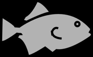 fish outline grey clip art at clker com vector clip art online rh clker com