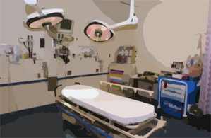 View Of One Of The State-of-the-art Treatment Rooms In The Emergency Room At The National Naval Medical Center In Bethesda, Maryland. Clip Art