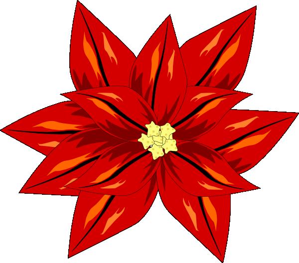 Poinsettia Clip Art at Clker.com - vector clip art online, royalty ...