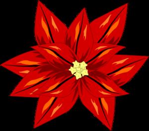 poinsettia clip art at clker com vector clip art online royalty rh clker com poinsettia plant clipart poinsettia plant clipart