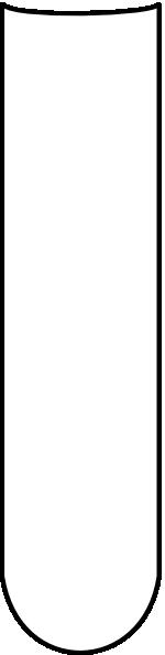 Test Tube Empty Clip Art at Clker.com - vector clip art ...